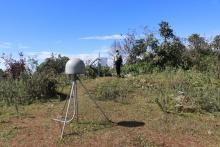 लेबर्च्व्हो मा रहेको भूकम्प मापन यन्त्र